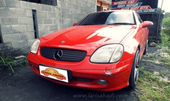Mercedes Benz SLK (R170), Rekondisi Cat