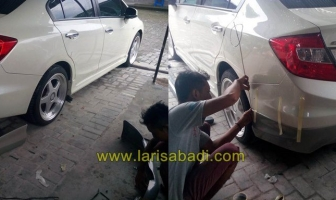 Honda Civic 2013 (FB), Cat & Pasang Bodykit