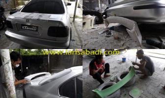 Pembuatan Custom Spoiler Honda Civic Ferio (EK)