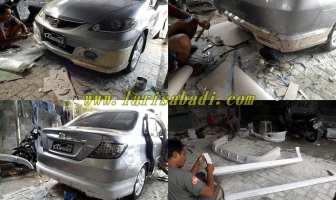 Bodykit Honda City 2005, Custom Add On