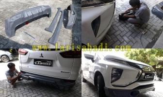 Mitsubishi Xpander 2018, Pemasangan Bodykit Plastik