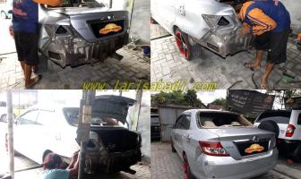 Honda City 2005, Perbaikan Body Belakang