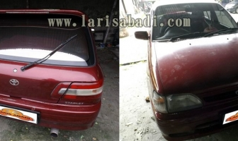 Toyota Starlet 95, Rekondisi Cat Body.
