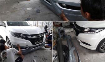 Pemasangan Bodykit Honda HR-V