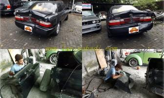 Perbaikan Body Belakang Penyok, Toyota Great Corolla
