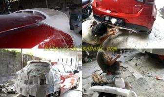 Pembuatan Spoiler dan Diffuser Custom, Mazda 2 Skyactive (Gen IV)