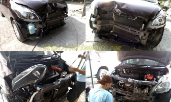 Suzuki Ertiga, Perbaikan Body Depan