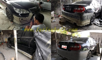 Modifikasi Bodykit Camry XV30 2006
