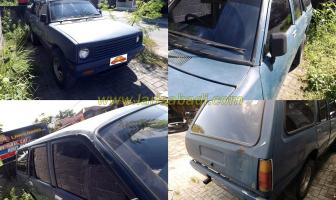 Rekondisi Body, Chevrolet Luv Wagon 1982