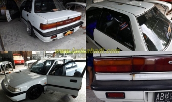 Honda Grand Civic (EF Sedan) 1990, Pengecatan Total