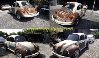 VW Beetle 1303, Cat Total Luar Dalam
