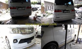 Pembuatan Bodykit Keliling Daihatsu Luxio