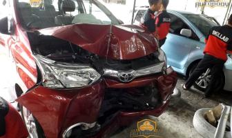 Toyota Avanza Veloz, Perbaikan Setelah Kecelakaan