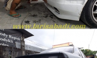 BMW E34 520, Pemasangan Bodykit Model M Technik