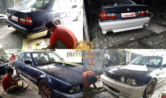 Modifikasi BMW 520i E34, Custom Bodykit