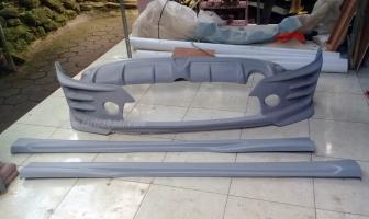 Honda Jazz IDSi 2004 Modifikasi Bodykit ala Mugen RS