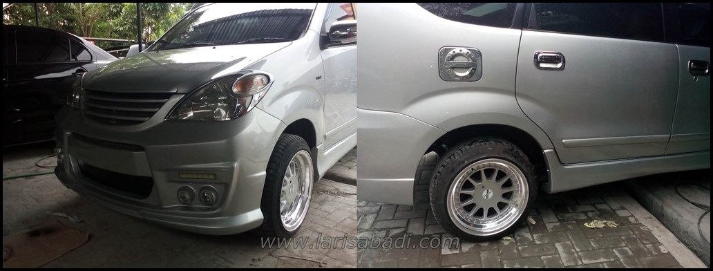 Modifikasi custom bodykit Avanza 2007