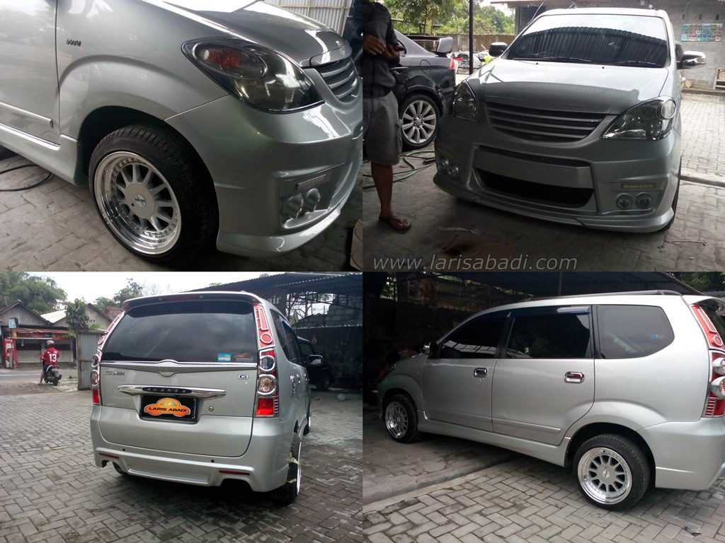 Toyota Avanza 2007 with custom bodykit
