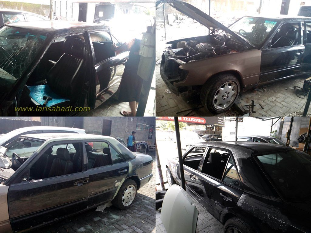 Proses Repair dan Penggantian Parts Mercedes Benz W124 300E