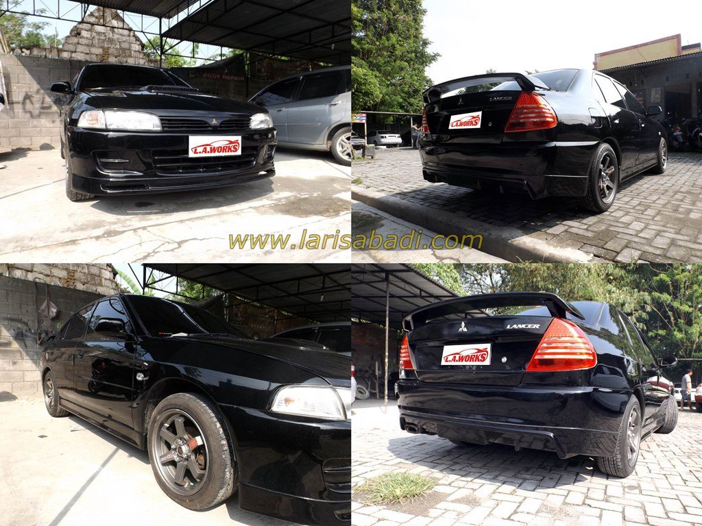 Mitsubishi Lancer Ck4 (5 th Gen) with simple bodykit and Spoiler.