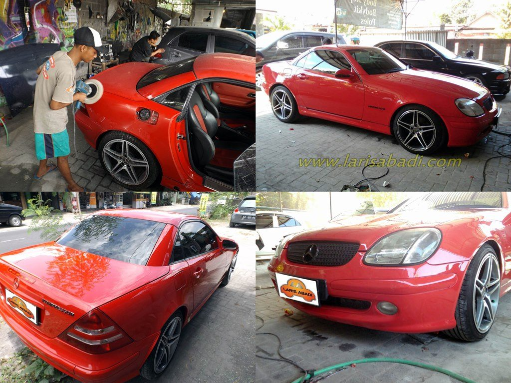 Mercedes Benz SLK (R170) Red