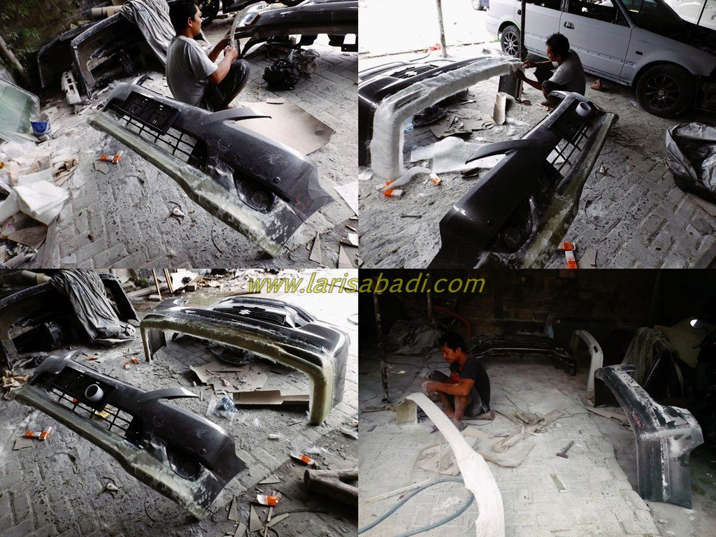 Proses Pembuatan Bodykit Innova