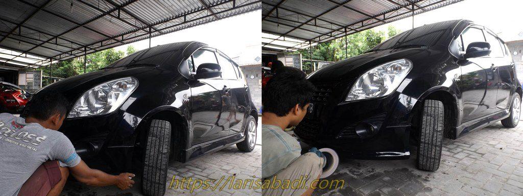 Pemasangan Bodykit Suzuki Splash