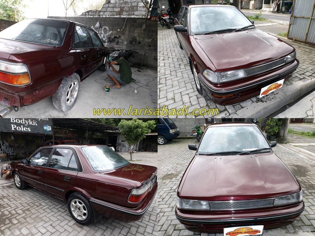 Toyota Corolla 6th Gen, AE-92 Sedan. Corolla Twin Cam Engine