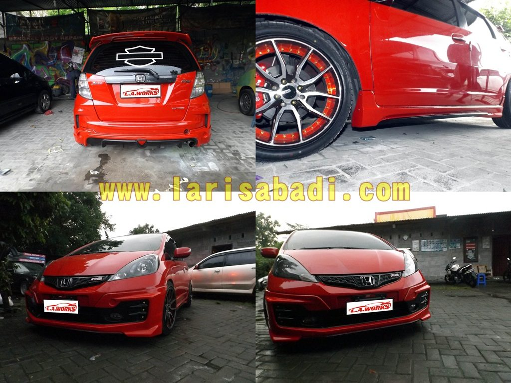 Honda Jazz RS Mugen Red