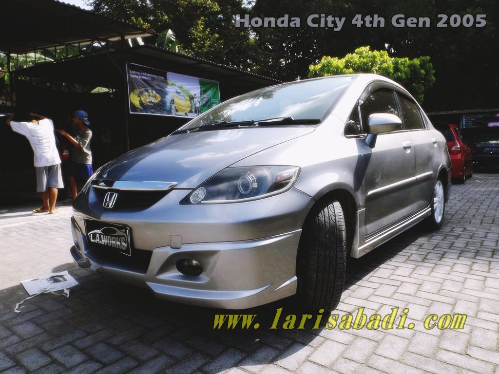 honda city custom aero kit