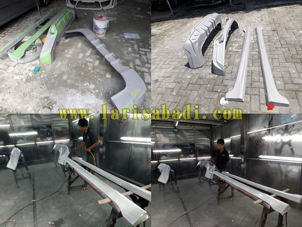 Proses Dempul, Epoxy, Cat