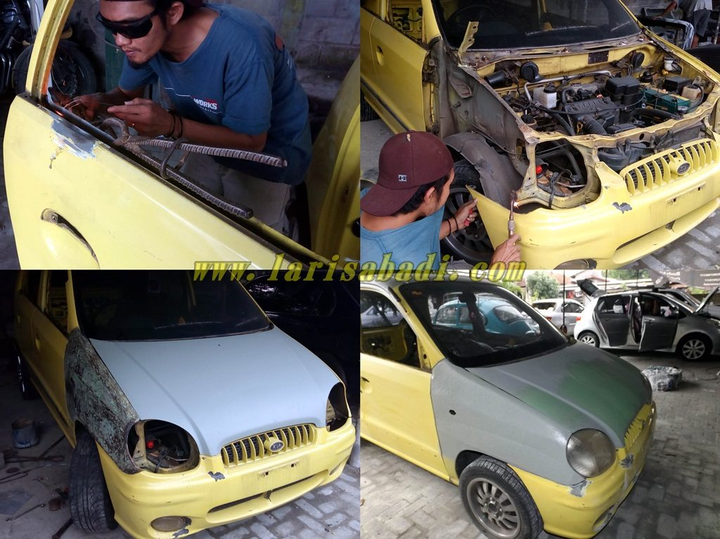 proses body repair dan primer coat